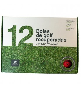 Callaway Superhot Color Mate- Grado Perla - (12 bolas de golf)