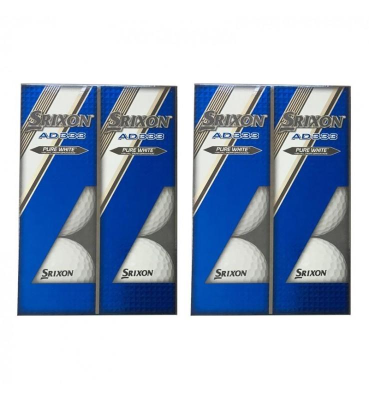 Srixon AD333 (12 bolas de golf nuevas)