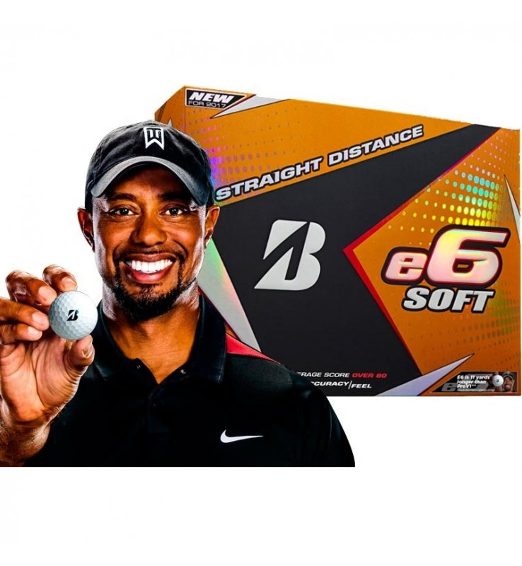 Bridgestone e6 SOFT - (12 bolas de golf)