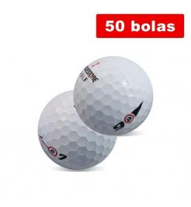 Bridgestone E6 y E7 - grados A y B (50 bolas de golf recuperadas)