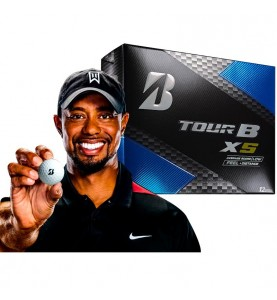 Bolas de golf Bridgestone Tour B XS - (12 bolas de golf)
