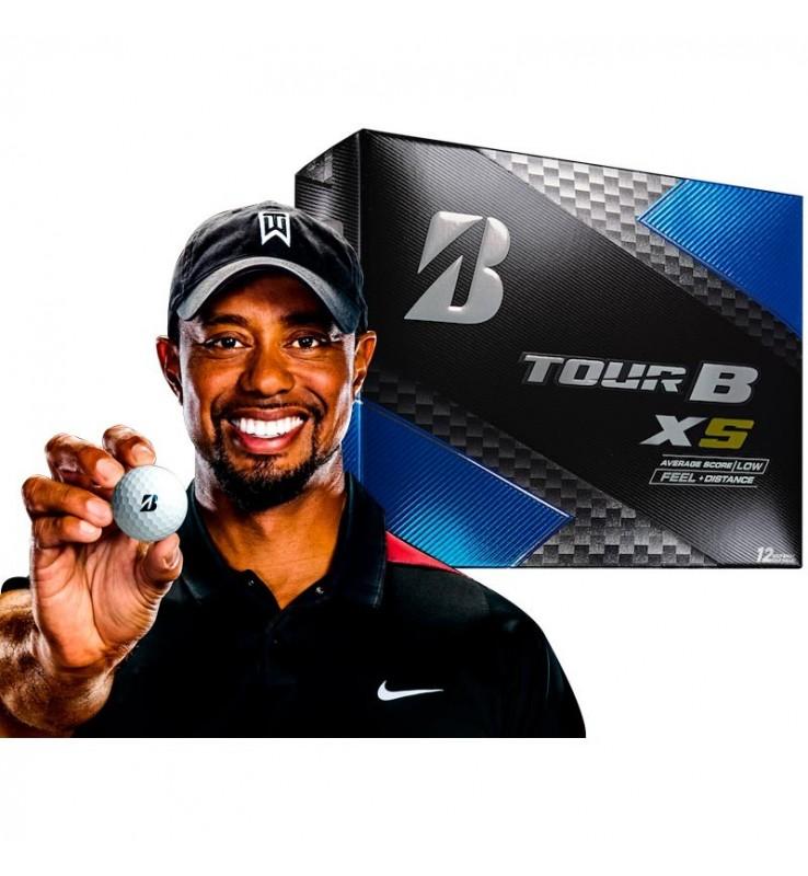 Bolas de golf Bridgestone Tour B XS - (12 bolas de golf)