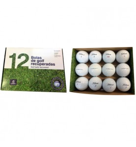 Titleist Prov1 y ProV1x (12 bolas de golf)