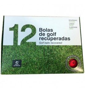 12 bolas de golf - Callaway Supersoft en colores mate