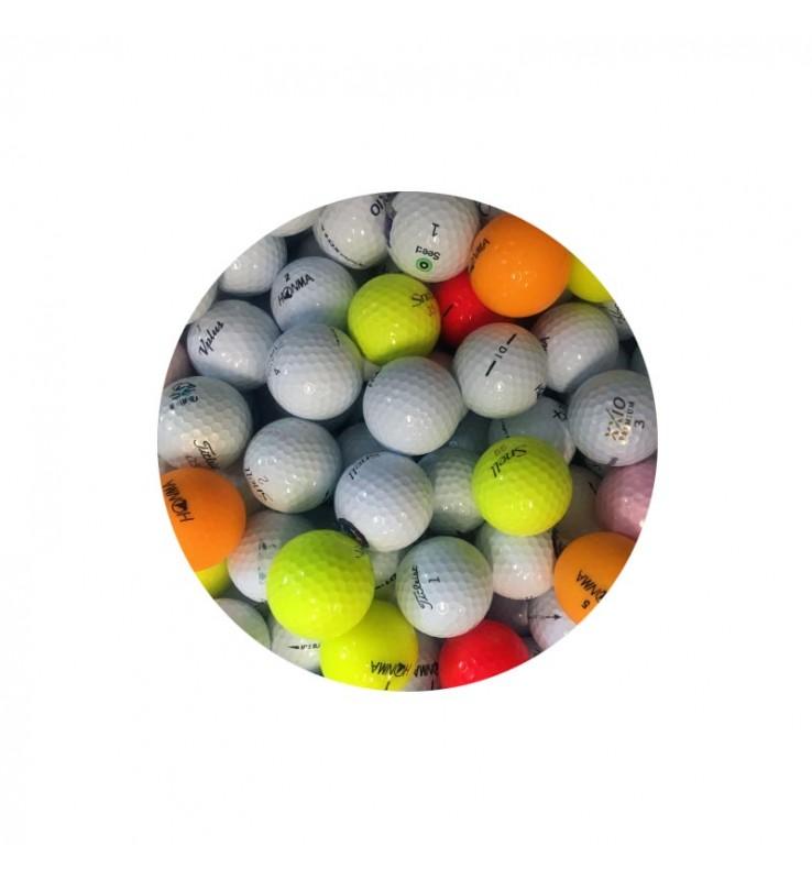 Bolas de golf Mix Tour (25 bolas de golf)