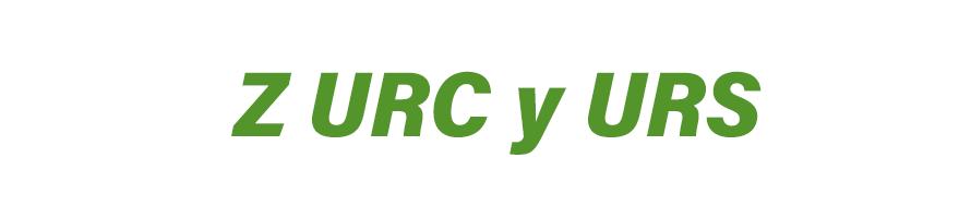 Z URC y URS