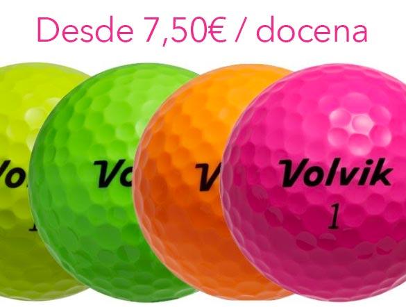 Bolas de golf de colores - Volvik