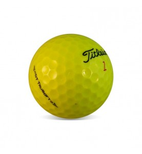 Titleist DT TruSoft Amarilla - Grado Perla (25 bolas de golf)