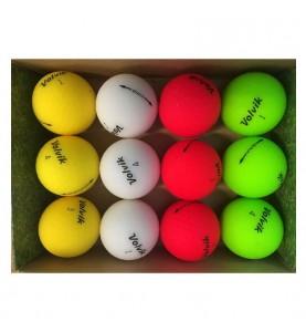 Pelotas de golf Volvik Vivid (caja de 12 bolas de golf)
