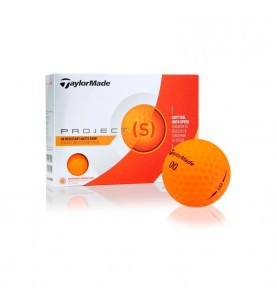 Taylor Made Project (s) Naranja - (12 bolas de golf)