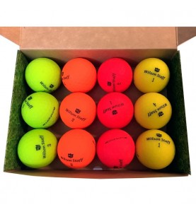 Wilson Staff Soft Optix Color - (12 bolas de golf)