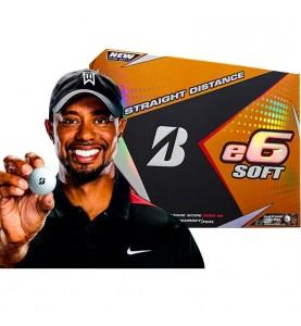 Bridgestone e6 SOFT - (12 bolas de golf)